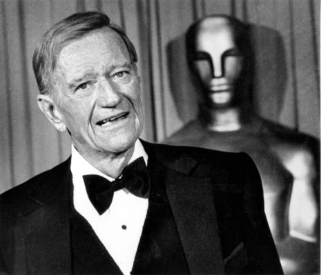 Actor John Wayne is shown at the 51st Annual Academy Awards in Hollywood, Ca. on April 9, 1979. … | Las Vegas Review-Journal