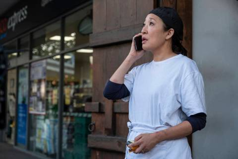 Sandra Oh as Eve Polastri - Killing Eve _ Season 3, Episode 1 - Photo Credit: Laura Radford/BBCA