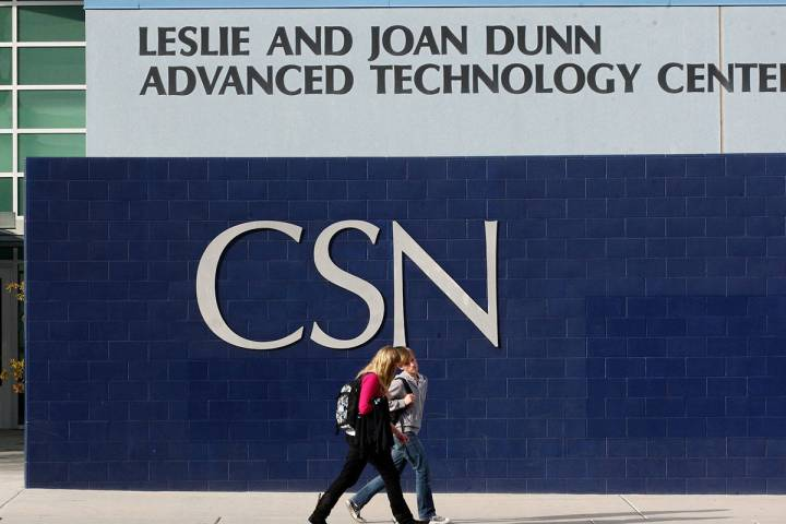 College of Southern Nevada in Henderson (Las Vegas Review-Journal)