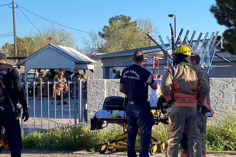 A man who perished in a northeast Las Vegas structure fire Tuesday, March 24, 2020, has been id ...