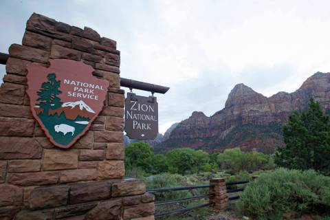 Zion National Park near Springdale, Utah. (AP Photo/Rick Bowmer, File)