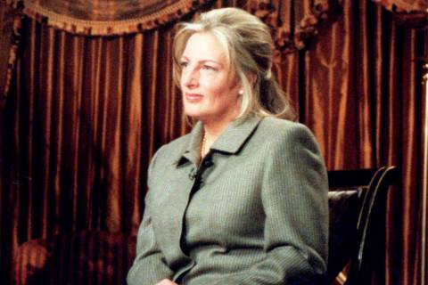 "FILE--Linda Tripp speaks during an exclusive interview for NBC newshow ""Today"" at a hotel in Wa ..."
