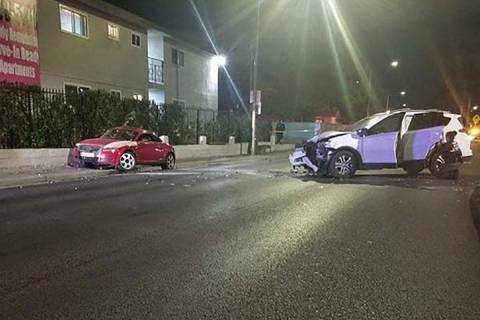 A 24-year-old unidentified man driving an Audi TT died after his vehicle collided with a Toyota ...