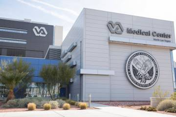 VA Southern Nevada Healthcare System Medical Center in North Las Vegas (Elizabeth Page Brumley/ ...