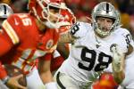 Raiders defensive line pointed in the right direction