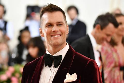 Tom Brady attends The Metropolitan Museum of Art's Costume Institute benefit gala celebrating t ...