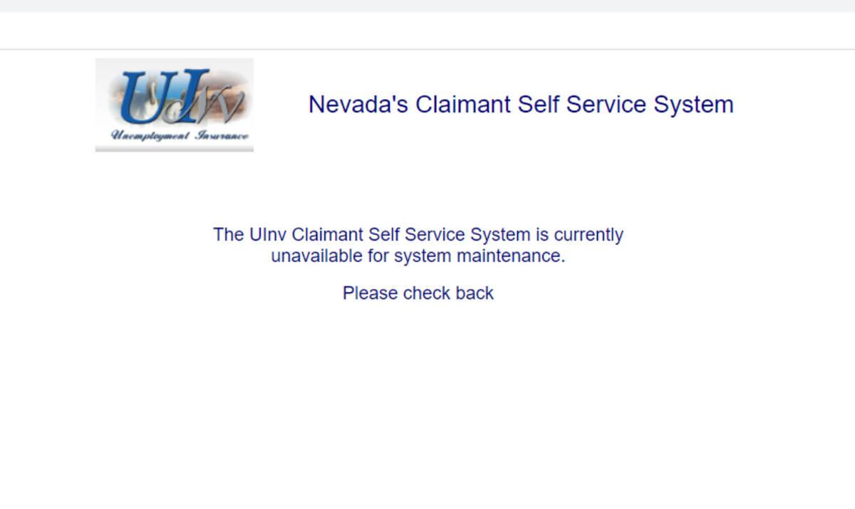 Unemployment Filers Still Seeing Error Messages Las Vegas Review Journal
