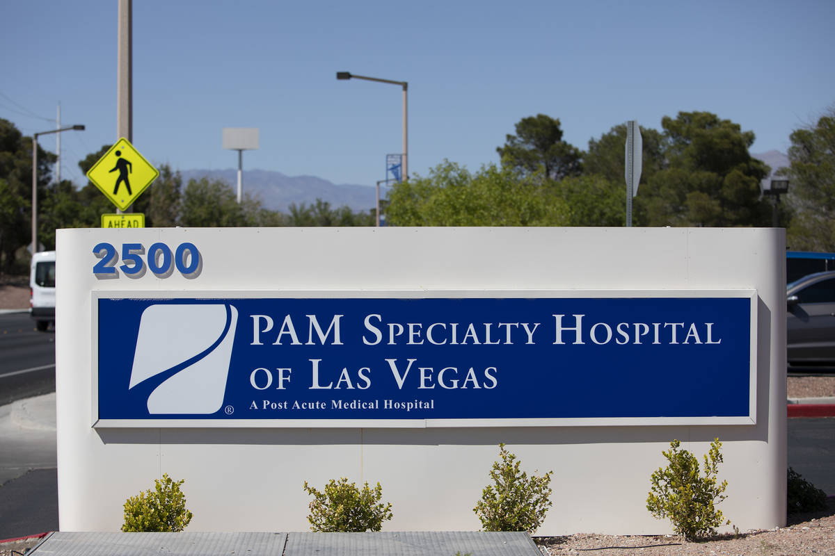 PAM Speciality Hospital's parking lot was the site of drive-through COVID-19 antibody testing o ...