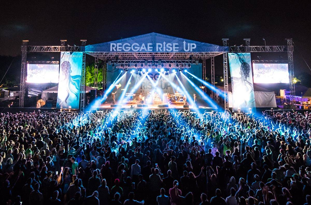 The Reggae Rise Up festival makes its Las Vegas debut in October. (Jessica Bernstein)