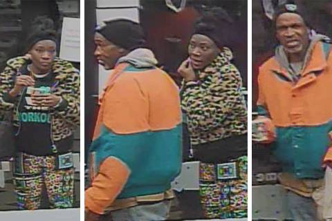 Police are looking for these people in connection to a robbery that occurred Friday, Jan. 10, 2 ...