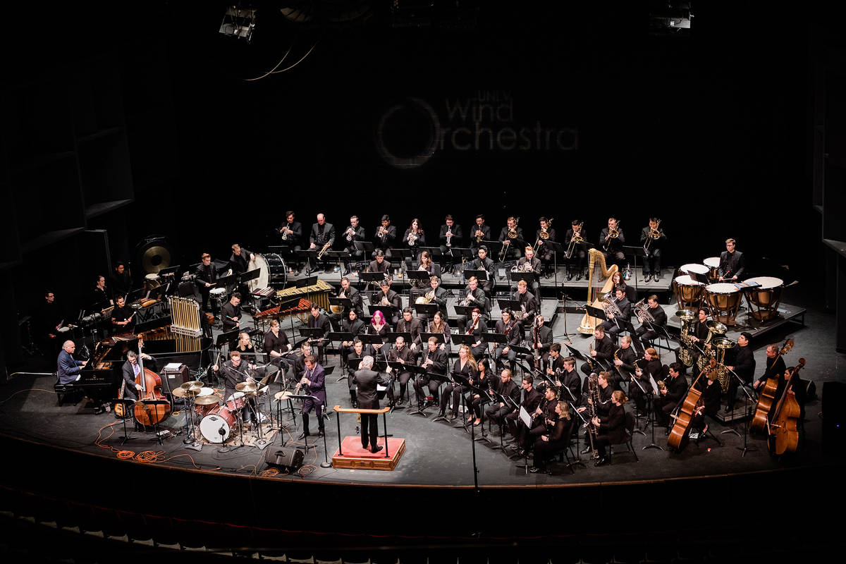 UNLV The UNLV Wind Orchestra has released a new CD.