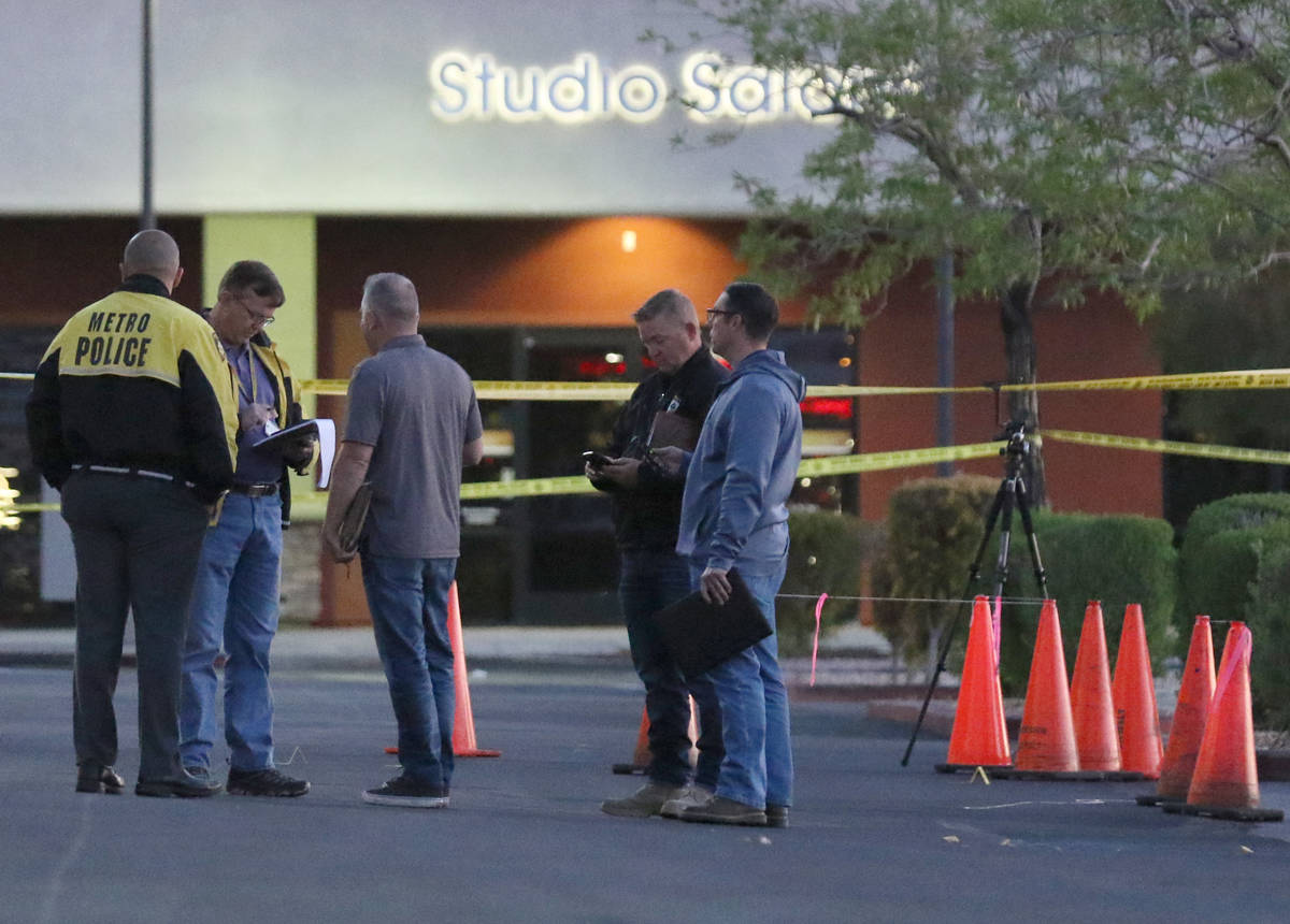 Las Vegas police are investigating a homicide after a man was found deceased in the parking lot ...