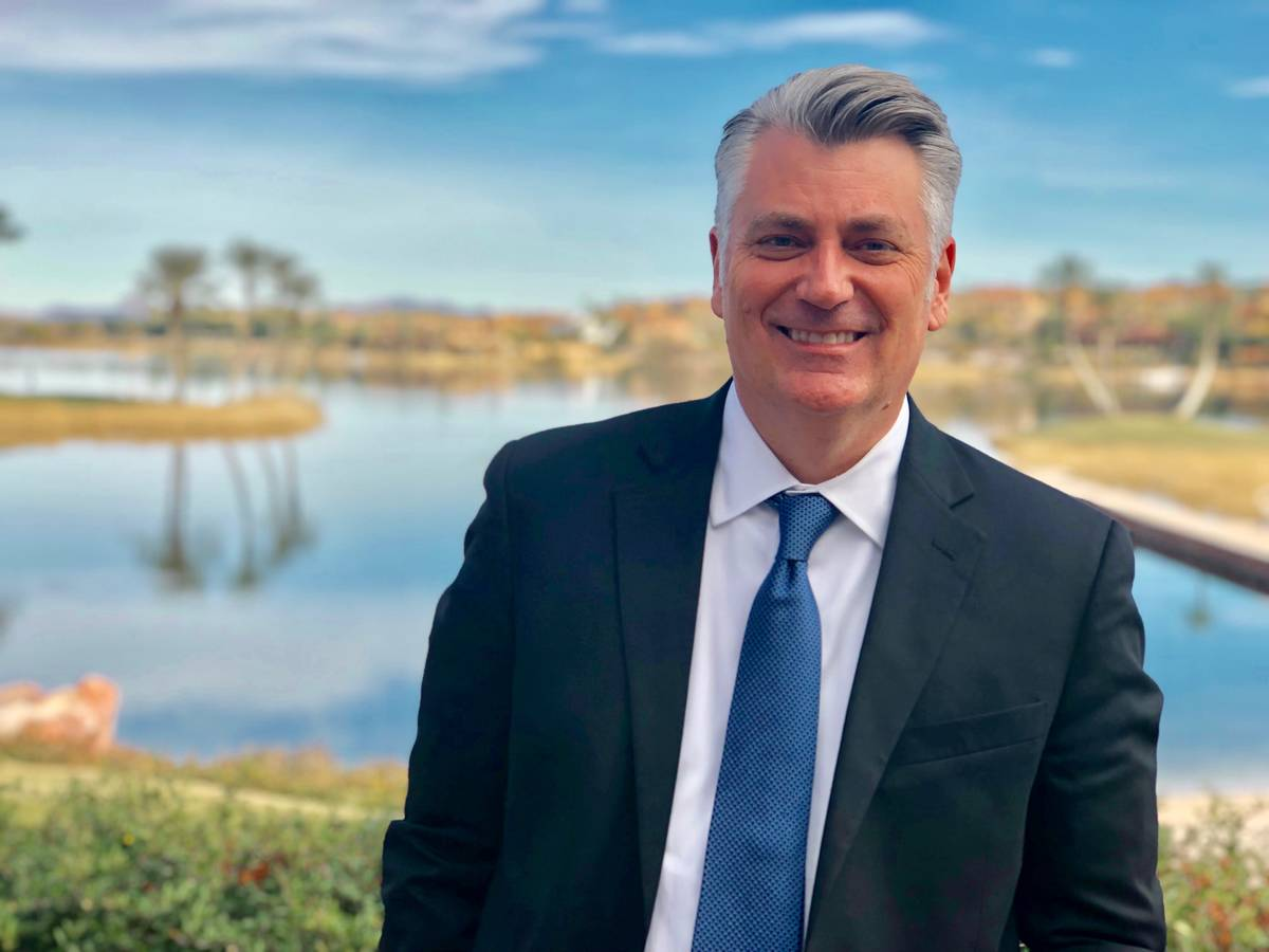 Patrick Parker is president of Raintree Investment Corp., which manages Lake Las Vegas. (Lake L ...