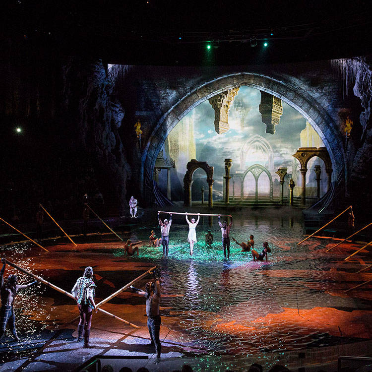 "A scene from ""The House of Dancing Water"" at Macao's City of Dreams resort. (CityOfDreamsMacau.com)"