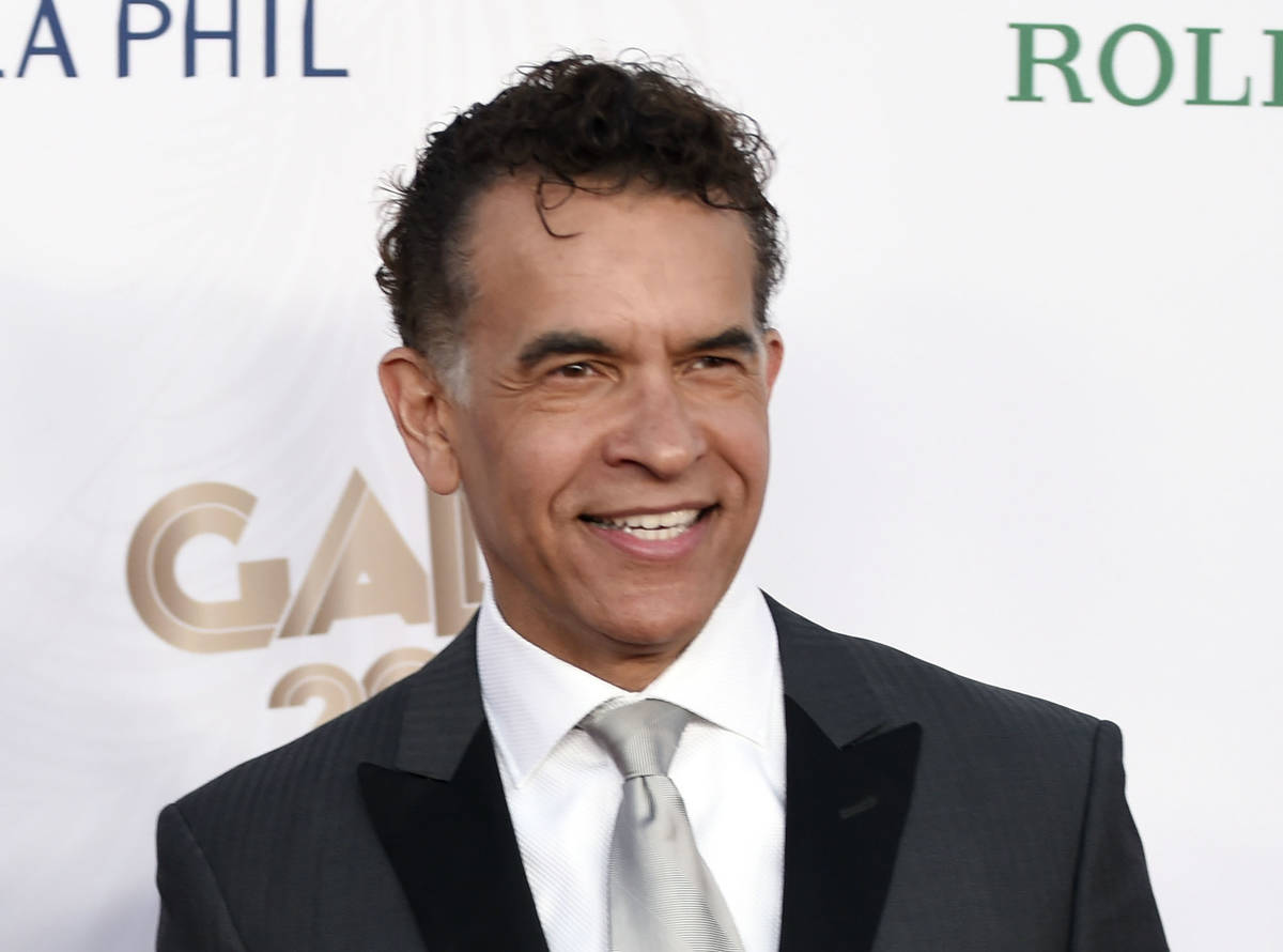 This Sept. 27, 2016 file photo shows Brian Stokes Mitchell at the Los Angeles Philharmonic's Wa ...