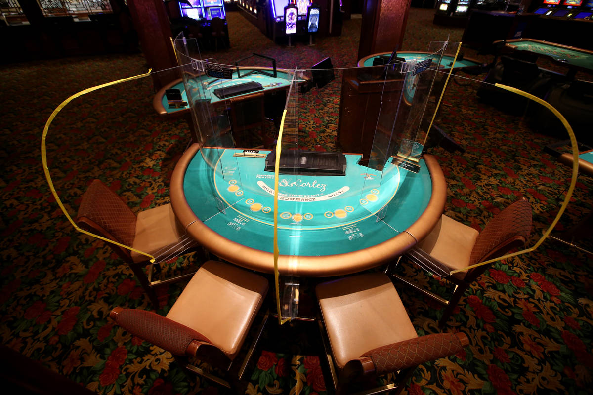 Las Vegas firm creates safety shields for use at casinos | Las Vegas  Review-Journal