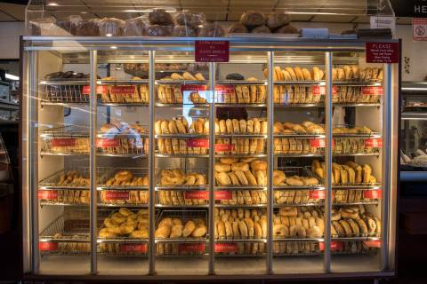 The Bagel Cafe, 301 N. Buffalo Drive, is seen in this April 29, 2016, file photo. The cafe is o ...