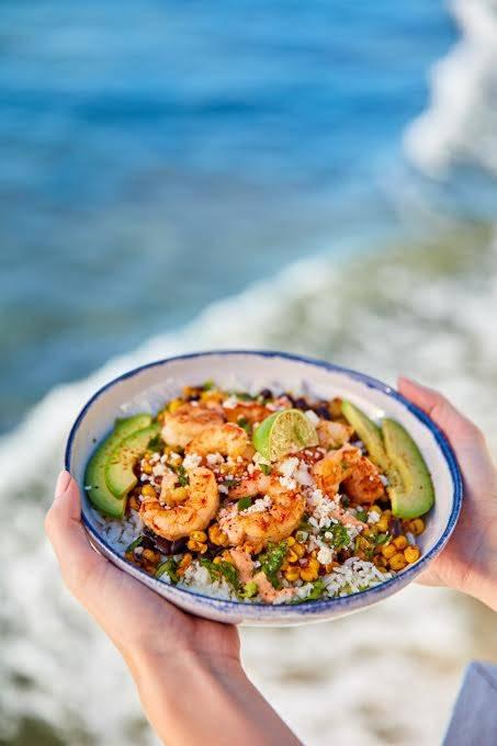 California Bowl with Shrimp at Rubio's. (Rubio's Coastal Grill)