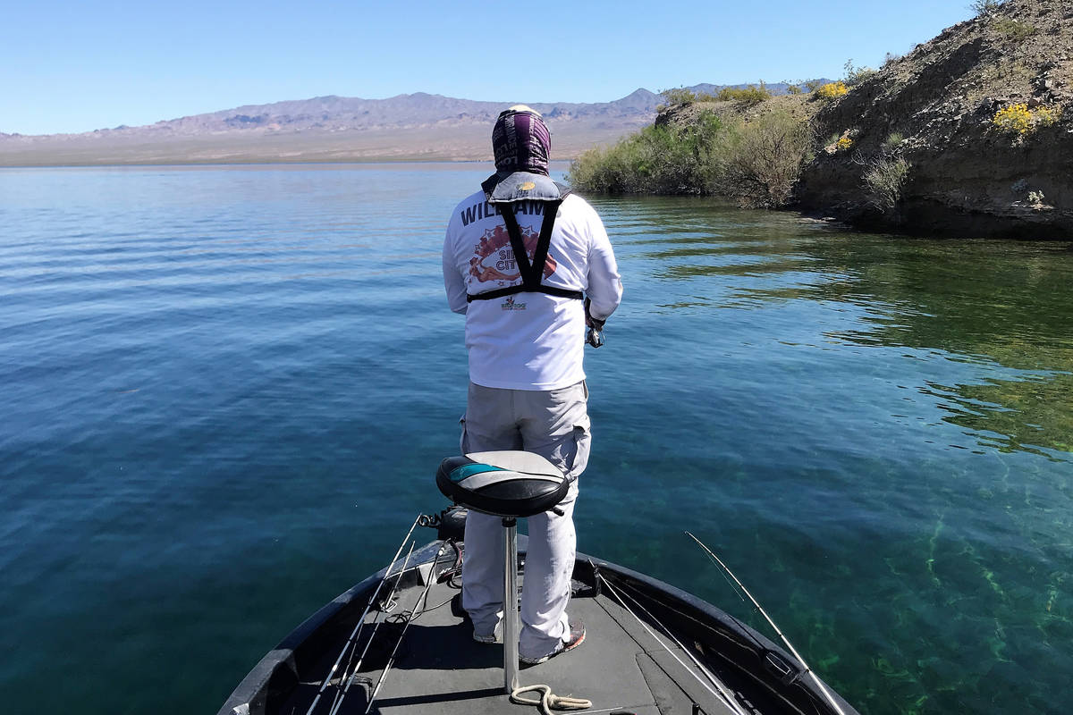 Having a small collection of pre-rigged fishing rods at the ready makes a bass angler more effi ...