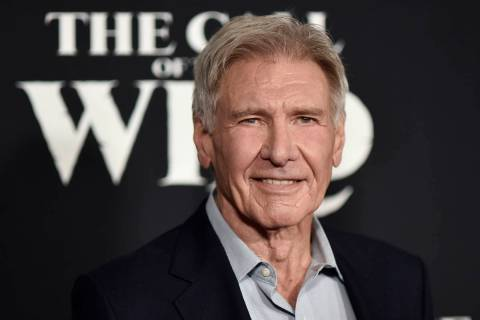 "FILE - In this Feb. 13, 2020 file photo, Harrison Ford attends the premiere of ""The Call o ..."
