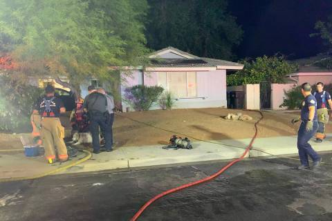 Firefighters responded to a fire Thursday, April 30, 2020, in the 2900 block of Gilmary Avenue, ...
