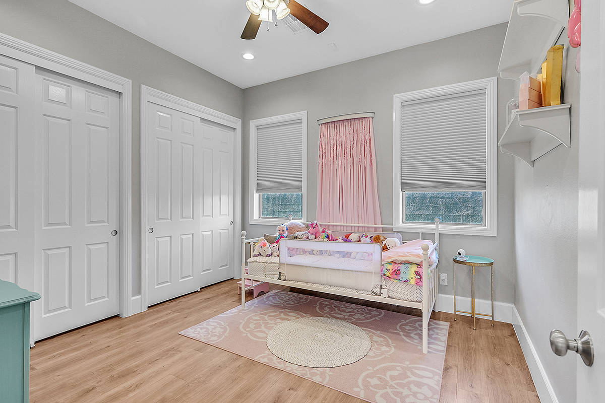 One of six bedrooms. (Huntington & Ellis)