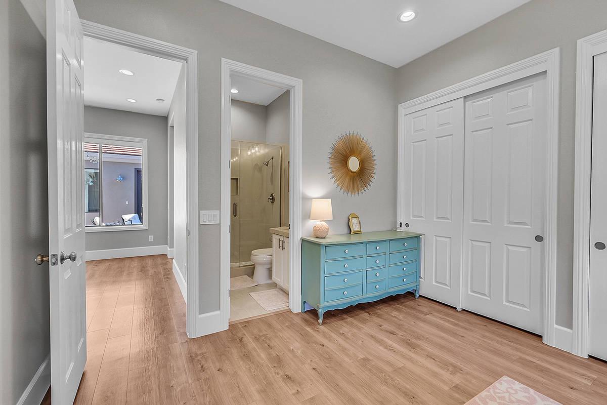The home has six bedrooms. (Huntington & Ellis)