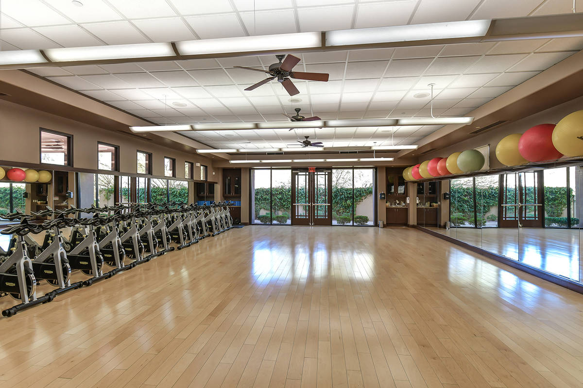 The fitness center at Anthem Country Club. (Huntington & Ellis)