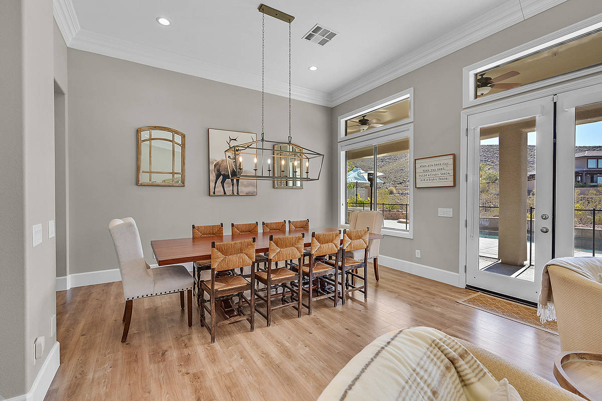 The open floor plan allows for a light and airy feel without congestion or clutter. (Huntington ...
