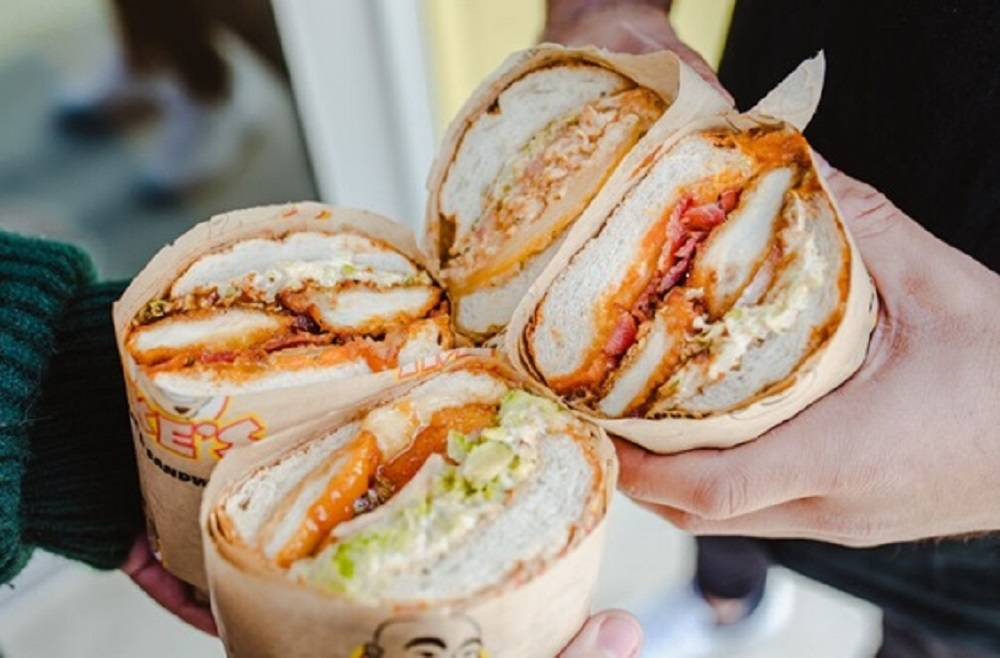 Ike's Love and Sandwiches at UNLV's University Gateway Building, 4700 S. Maryland Parkway, ...