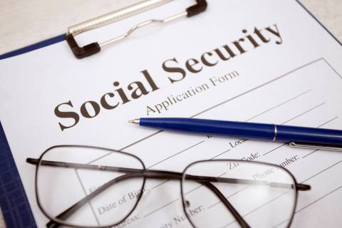Social Security Form (Getty)
