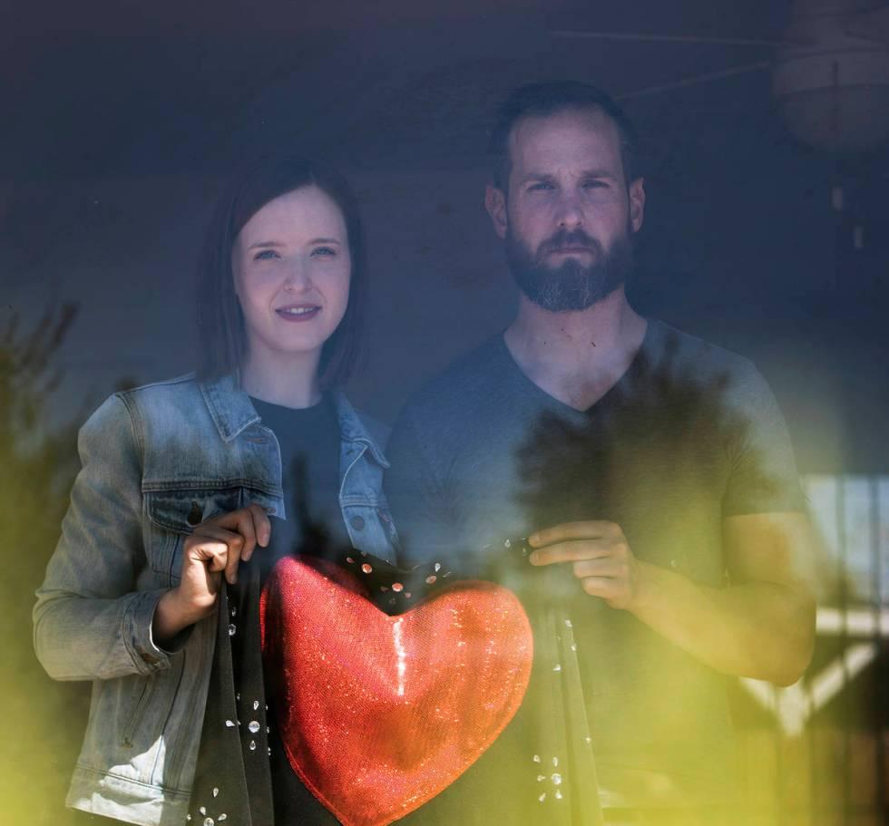 Holly Vaughn and Gabriel Allred of Las Vegas. (Ellen Schmidt/Las Vegas Review-Journal) @ellenks ...