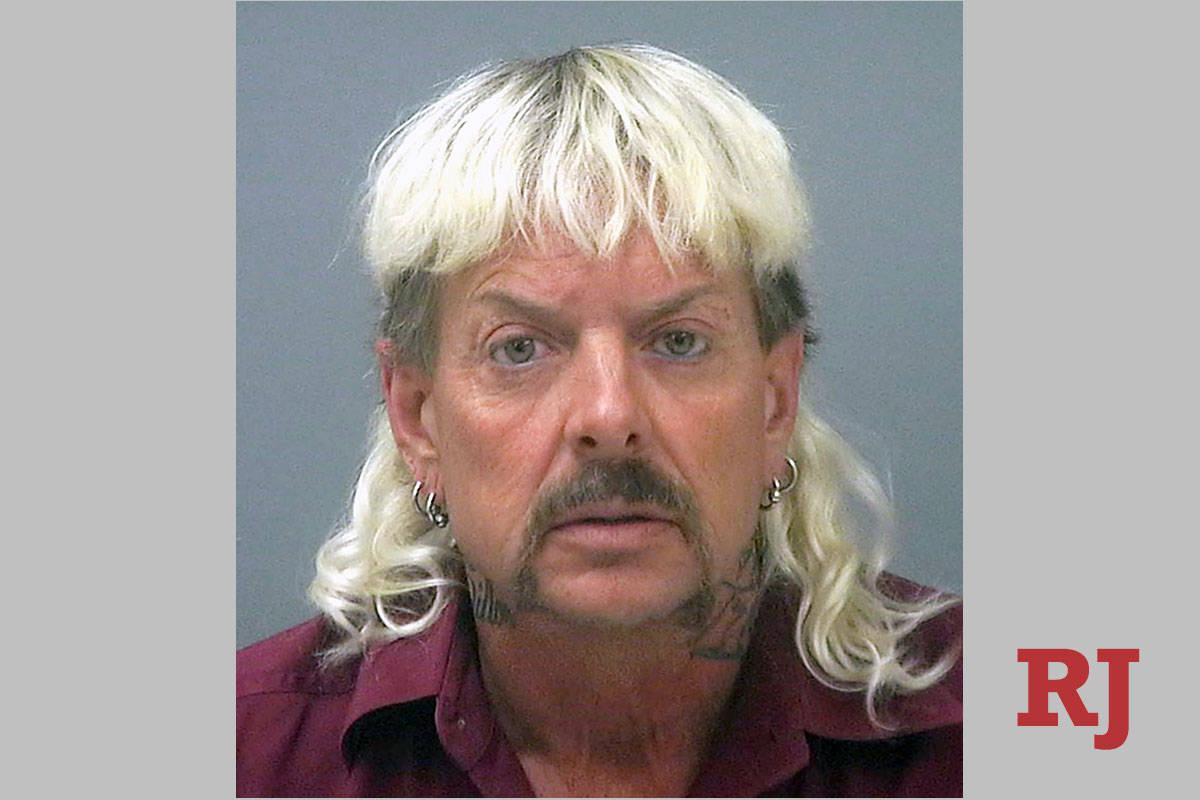 """Are """"Tiger King"""" references still a thing? (Santa Rosa County Jail via AP, File)"""