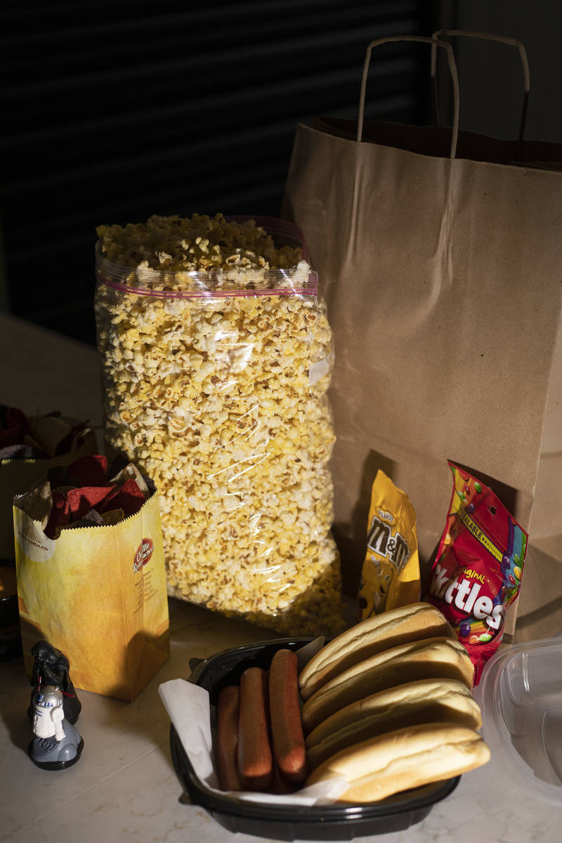 Movie popcorn and snacks are available for curbside pickup at Maya Cinemas on Friday, May 1, 20 ...