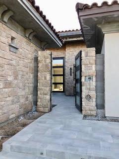 The home has a five-car garage and casita. (Domanico Custom Homes)