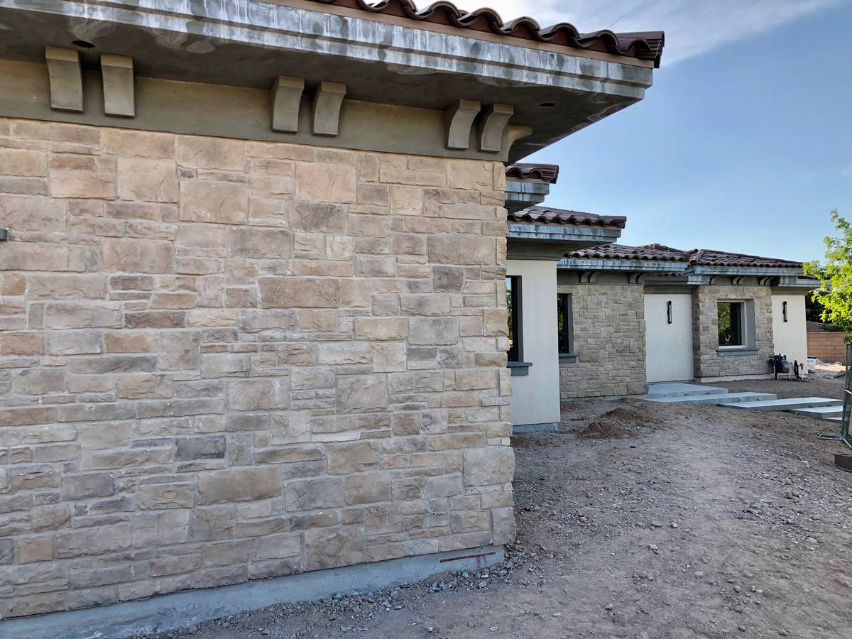 This Southern Highlands home is being constructed by Domanico Custom Homes. (Domanico Custom Homes)