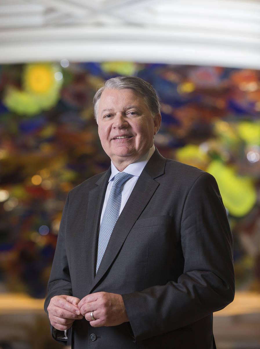 Randy Morton, president of the Bellagio in Las Vegas. Benjamin Hager Las Vegas Review-Journal @ ...
