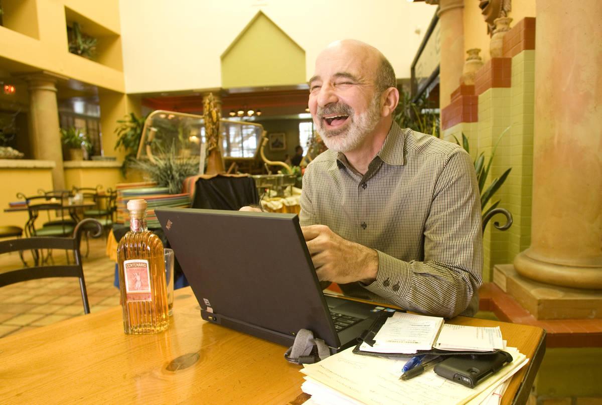 Ricardo's restaurant owner Bob Ansara October 2010. (Las Vegas Review-Journal file)