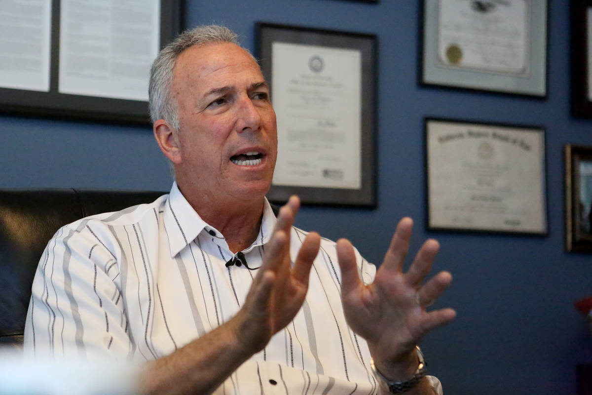 Clark County District Attorney Steve Wolfson. (Michael Quine/Las Vegas Review-Journal)