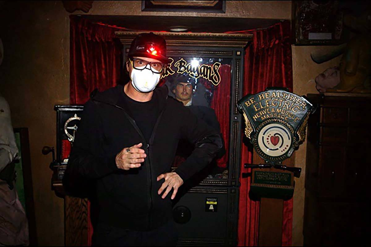 Zak Bagans quarantines himself along with his co-stars inside his Haunted Museum for a series o ...