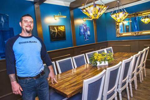 Dan Krohmer, shown here at his Other Mama, is a finalist for Best Chef: Southwest in the 2020 J ...