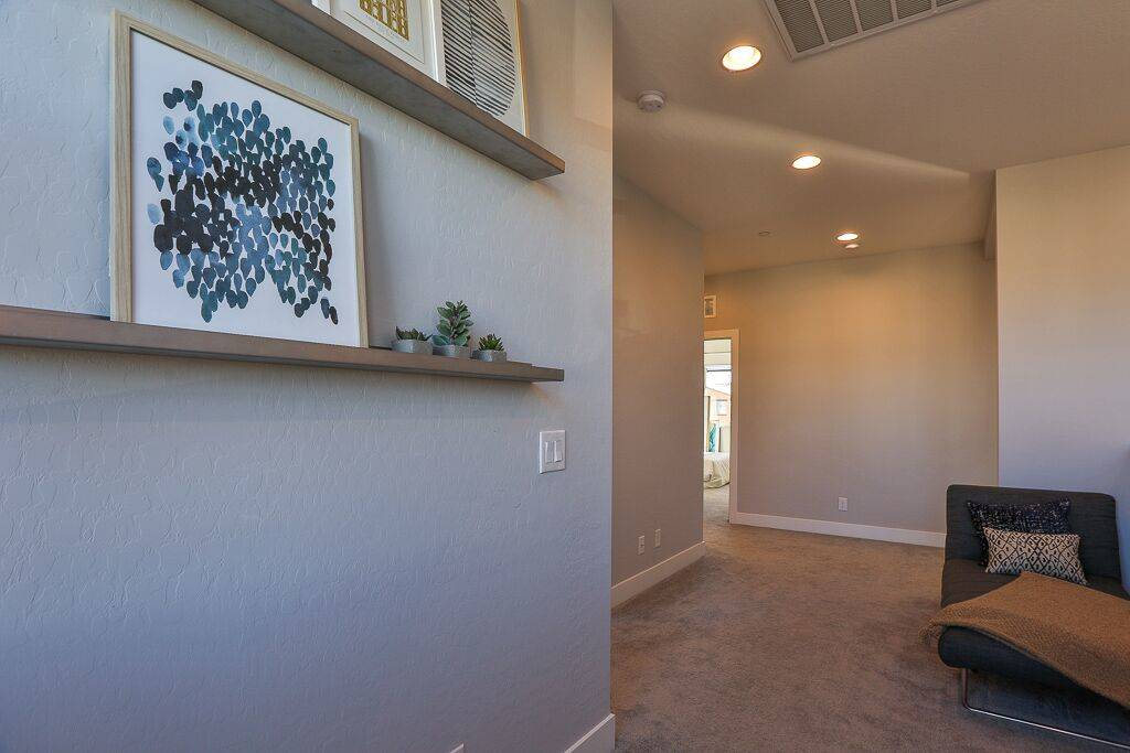 The home in Inspirada is close to the Raiders' practice facility. (Life Realty)
