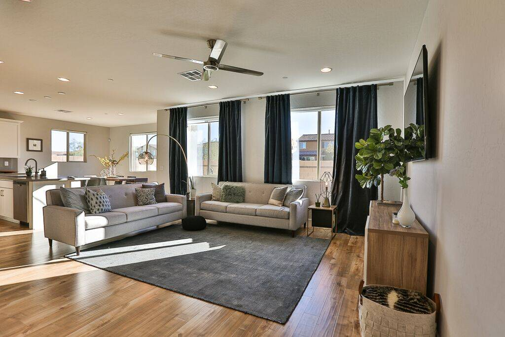 The two-story Inspirada home built in 2018 and had one occupant measures 2,148 square feet. (Li ...