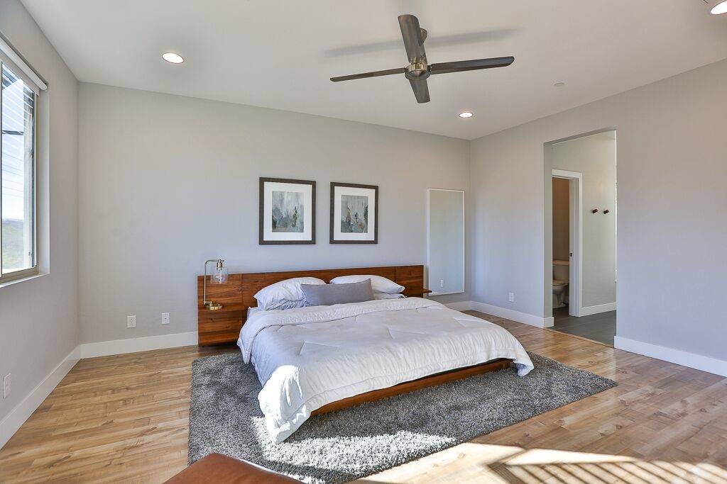 The home in Inspirada, a master-planned community in Henderson, has four bedrooms. (Life Realty)