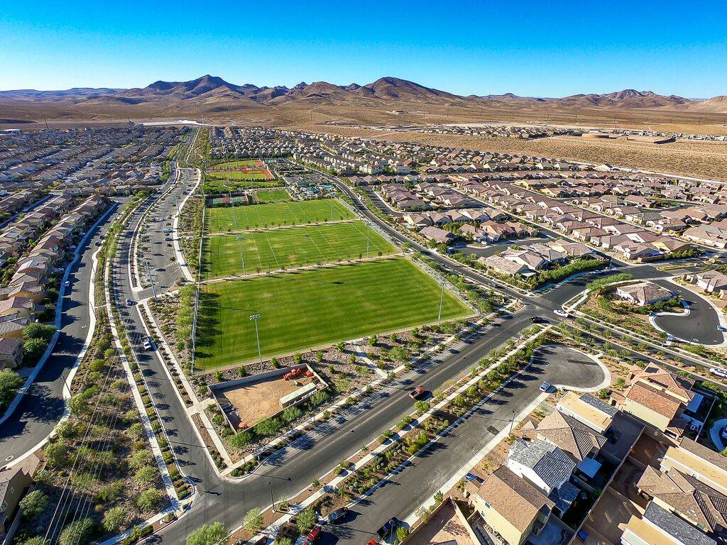 Inspirada master-planned community in Henderson is near the Raiders' practice facility. (Life ...
