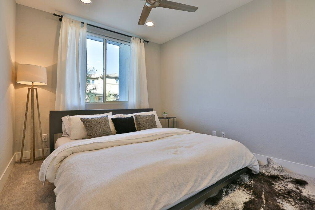 One of four bedrooms in the home. (Life Realty)