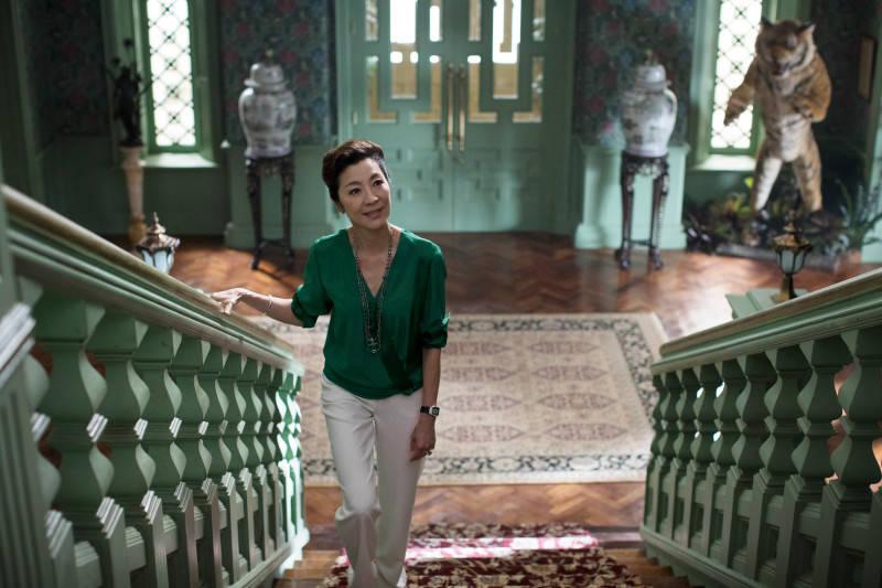 """Michelle Yeoh stars in """"Crazy Rich Asians."""" (Warner Bros. Entertainment)"""