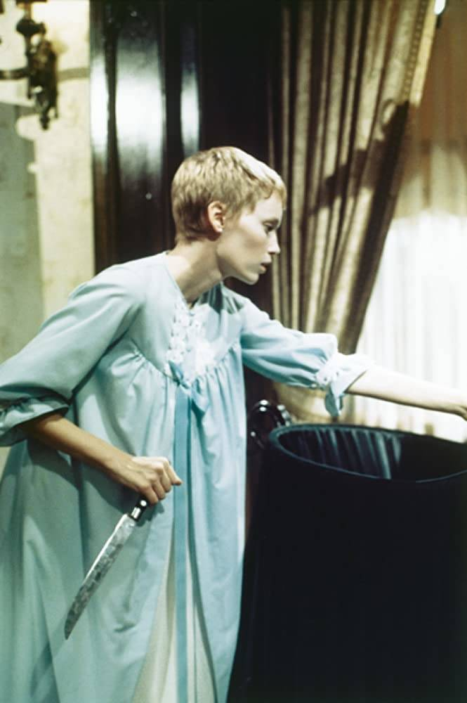 "Mia Farrow stars in ""Rosemary's Baby."" (Paramount Pictures)"