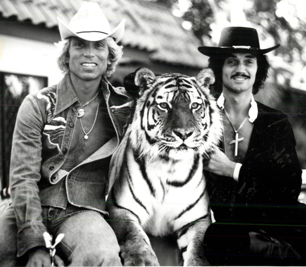Siegfried and Roy at the Stardust. (Review-Journal file)