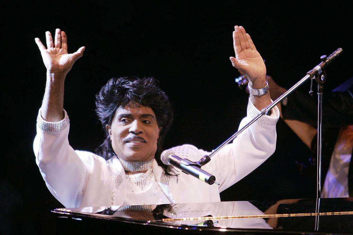 In this Aug. 19, 2004 file photo, Little Richard performs at Westbury Music Fair in Westbury, N ...